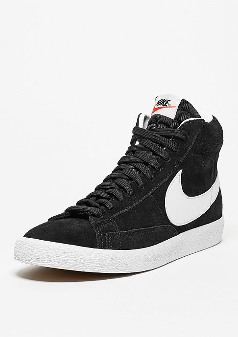 NIKE Schuh Blazer Mid-Top Premium black/white/gum light brown
