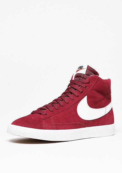 NIKE Schuh Blazer Mid-Top Premium team red/white/gum light brown