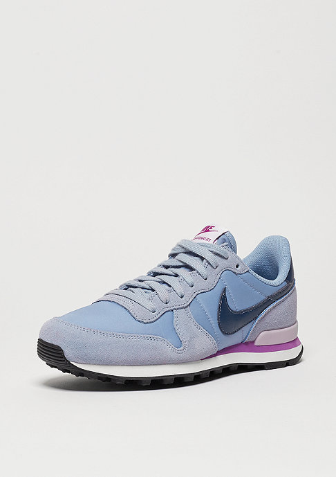 NIKE Laufschuh Internationalist Premium blue grey/sqdrn blue/smmt white