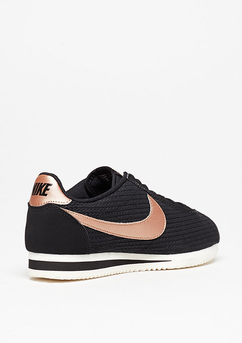 NIKE Classic Cortez Leather Lux black/mtlc red/bronze/sail