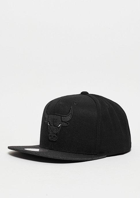 Mitchell & Ness Snapback-Cap Heather 2 Tone NBA Chicago Bulls black