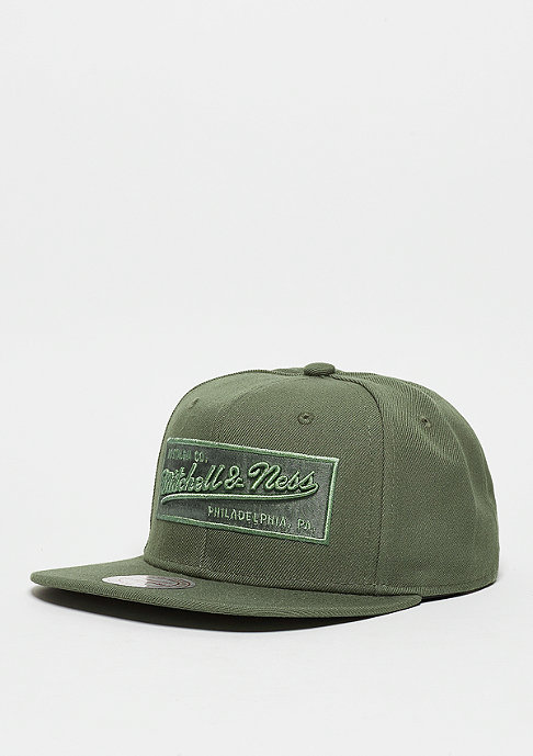 Mitchell & Ness Box Logo olive/black
