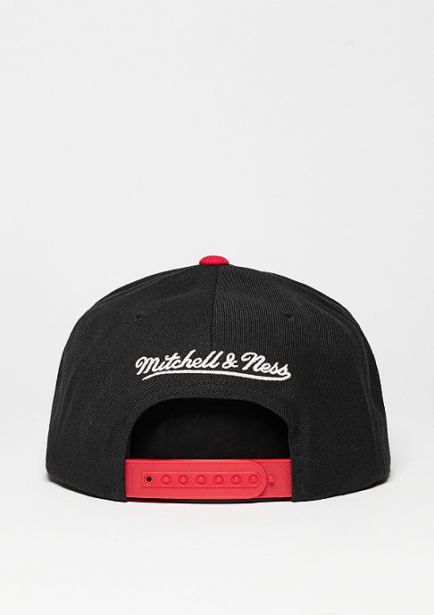 Mitchell & Ness Snapback-Cap Current Throwback NHL Chicago Blackhawks black/red