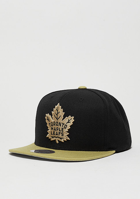 Mitchell & Ness Snapback-Cap Current Throwback NHL Toronto Maple Leafs black/stone