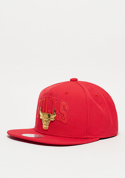 Mitchell & Ness Lux Arch NBA Chicago Bulls red