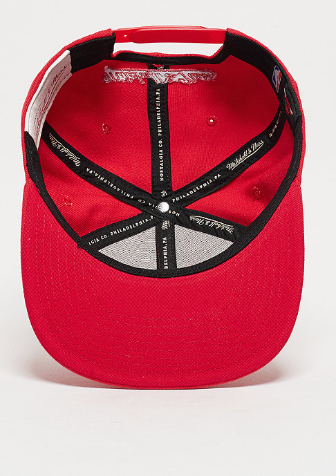 Mitchell & Ness Snapback-Cap Lux Arch NBA Chicago Bulls red