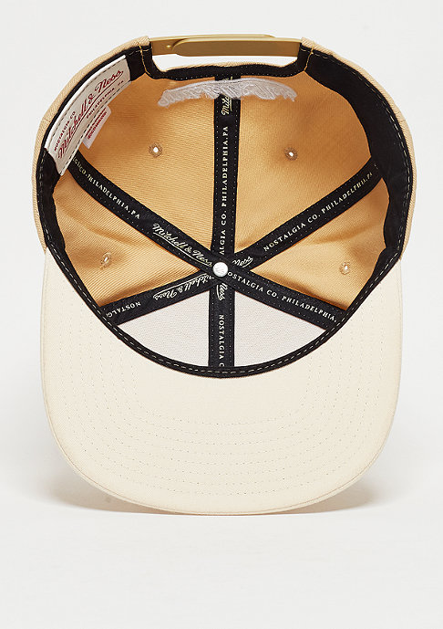 Mitchell & Ness Snapback-Cap Heather 2 Tone sand