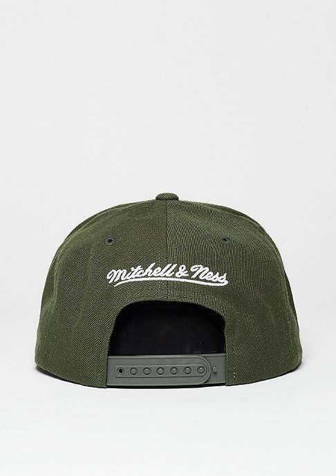 Mitchell & Ness Snapback-Cap Heather 2 Tone NHL Chicago Blackhawks light khaki