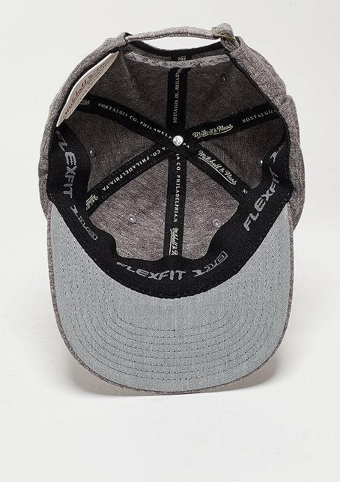 Mitchell & Ness Baseball-Cap Court Stretch grey