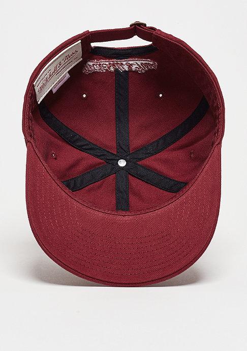Mitchell & Ness Baseball-Cap Chukker burgundy