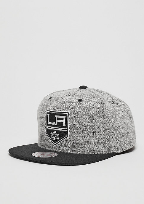 Mitchell & Ness Snapback-Cap Grey Duster NHL Los Angeles Kings grey/black