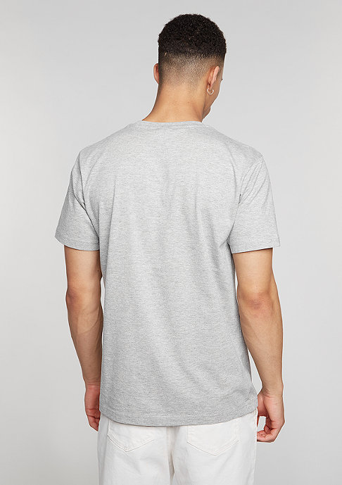 Mister Tee T-Shirt Follow heather grey