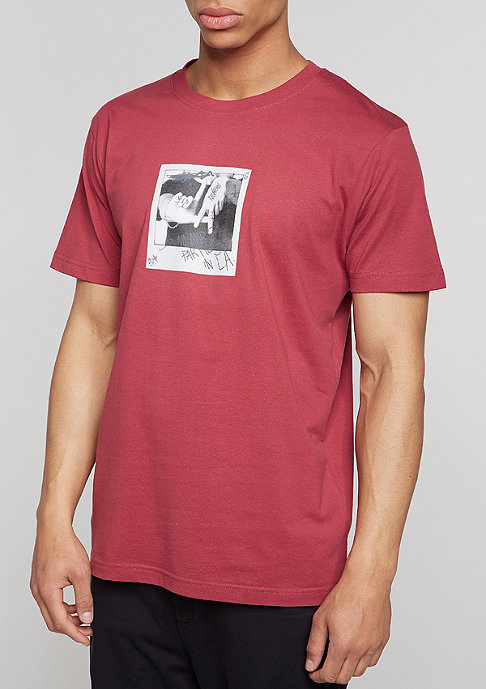Mister Tee T-Shirt No More ruby