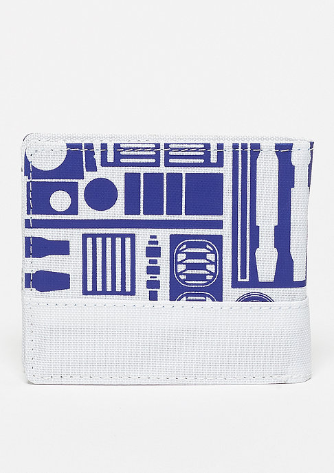 Nixon Atlas Wallet Star Wars R2D2 white