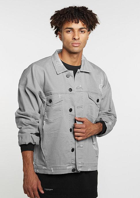Cayler & Sons C&S Drop Shoulder Distressed Denim Jacket