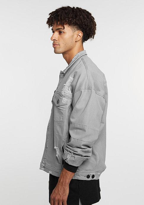 Cayler & Sons Übergangsjacke Drop Shoulder Distressed Denim Jacket