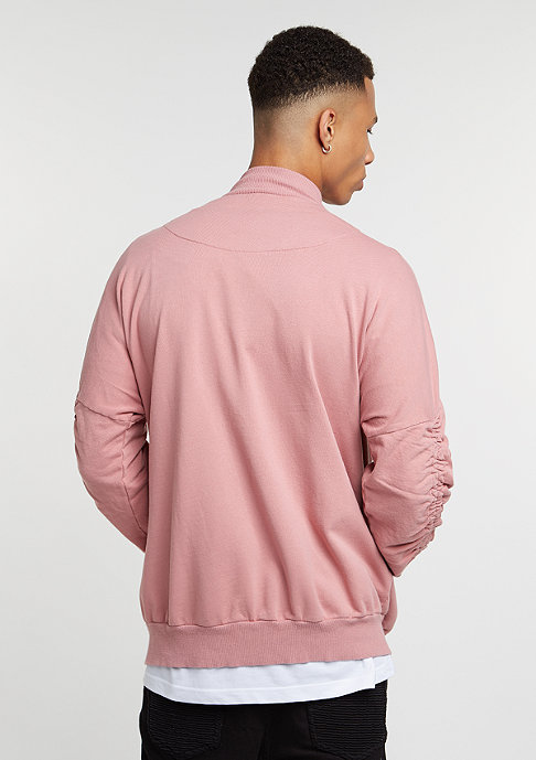 Granted Bomber muted pink