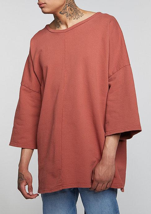 Granted Sweatshirt Short Sleeve rust