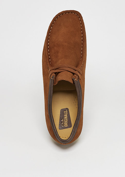 Clarks Originals Schuh Wallabee brown