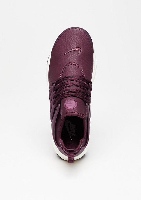 NIKE Air Presto Premium night maroon/night maroon/sail