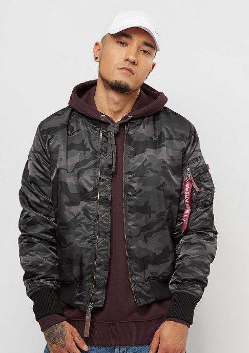 Alpha Industries MA-1 VF 59 black camo