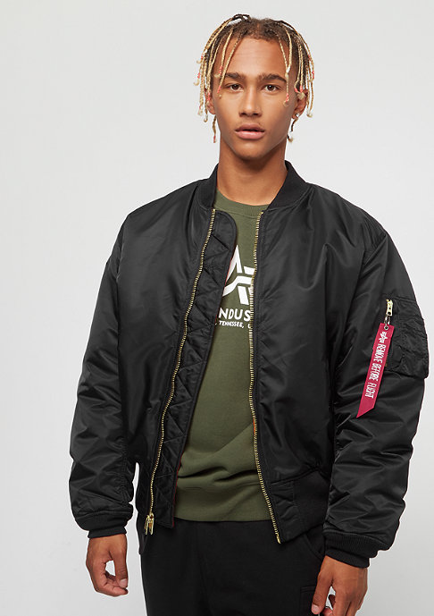 Alpha Industries Übergangsjacke MA-1 black
