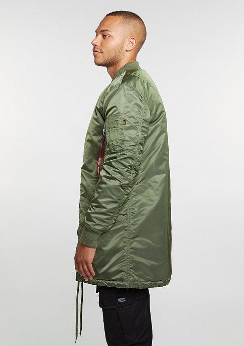 Alpha Industries MA-1 Coat sage green