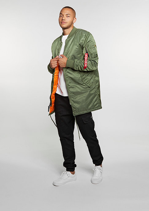 Alpha Industries Winterjacke MA-1 Coat sage green