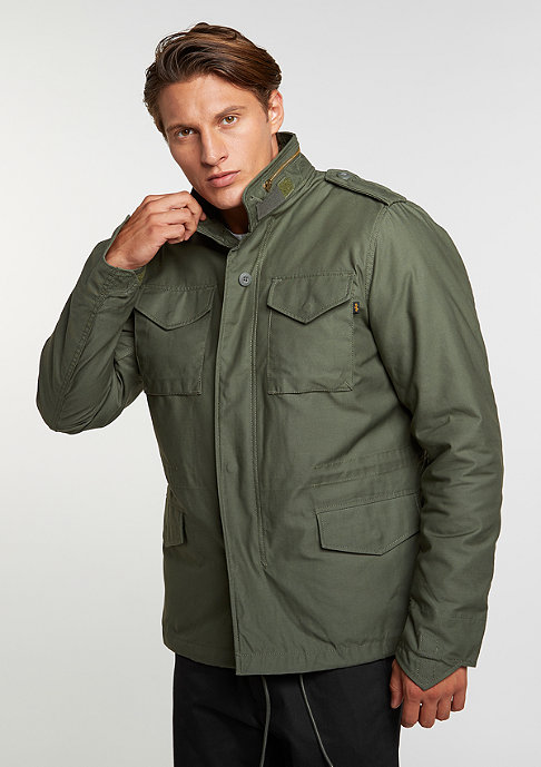 Alpha Industries M-65 Heritage olive