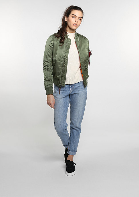 Alpha Industries Übergangsjacke MA-1 VF WMN s. green