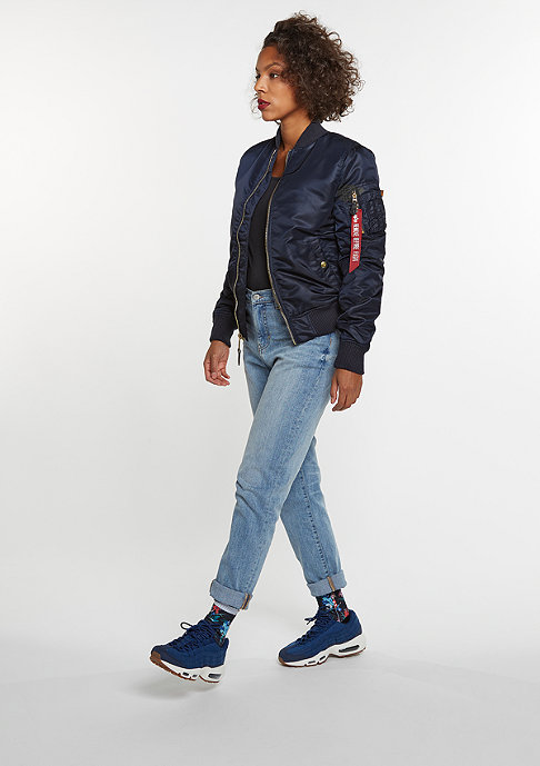 Alpha Industries Übergangsjacke MA-1 VF PM WMN repl. blue
