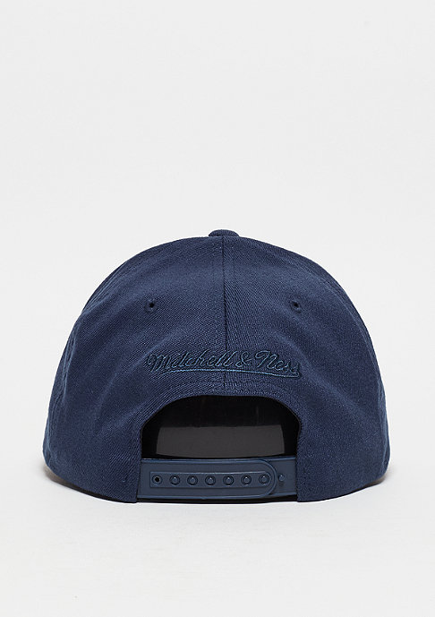 Mitchell & Ness Baseball-Cap 110 Script navy/white