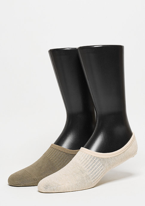 SNIPES Sportsocke Invisible olive/sand