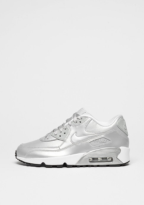 NIKE Air Max 90 SE Leather metallic platinum/metallic platinum