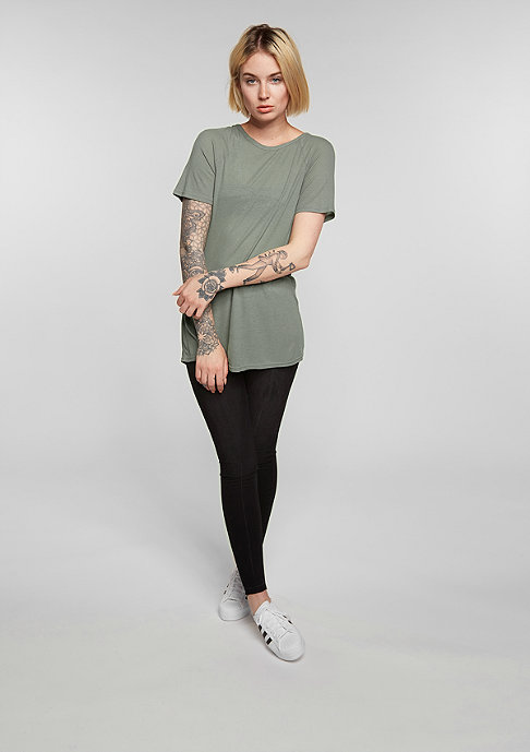 Cheap Monday T-Shirt Rim Top elephant grey