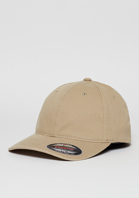 Flexfit Baseball-Cap Garment Washed Cotton Dad khaki