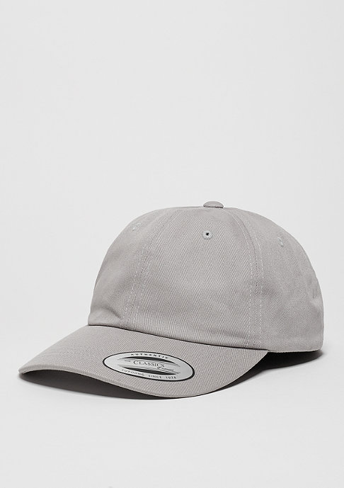 Flexfit Baseball-Cap Low Profile Cotton Twill silver
