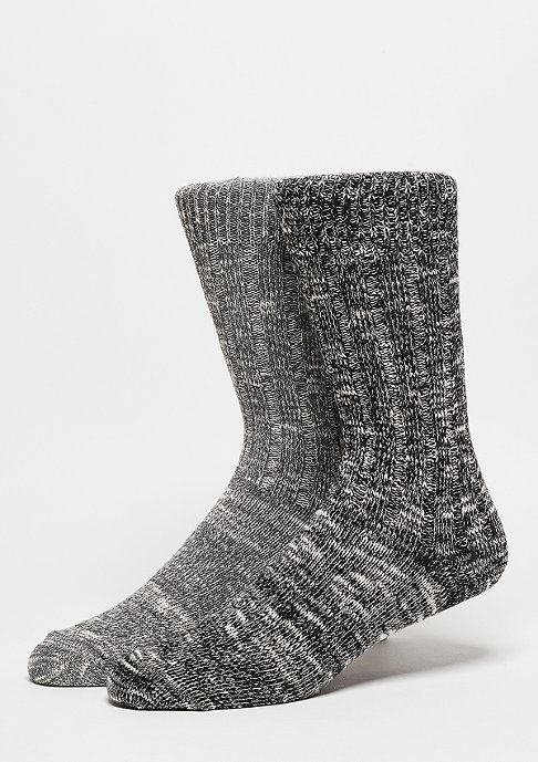 SNIPES Fashionsocke Melange black/grey