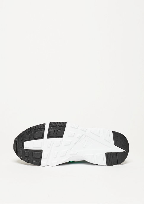 NIKE Laufschuh Air Huarache Run (GS) black/green glow/pure platinum