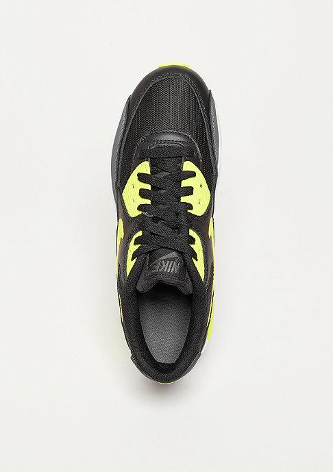NIKE Schuh Air Max 90 Mesh black/volt/dark grey
