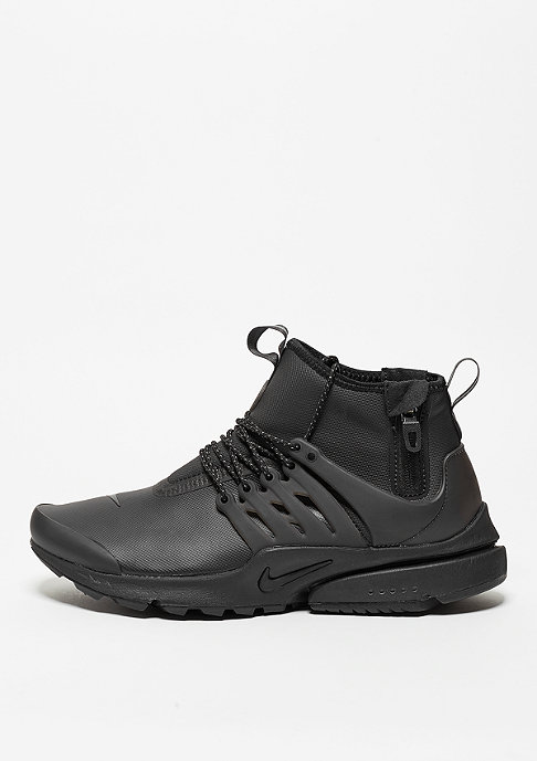 NIKE Air Presto Utility Mid-Top black/black/volt/dark grey