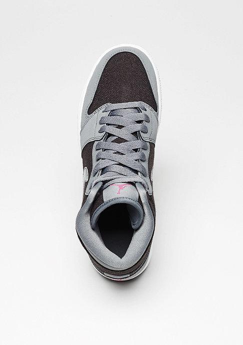 JORDAN Air Jordan 1 Retro High cool grey/vivid pink/black