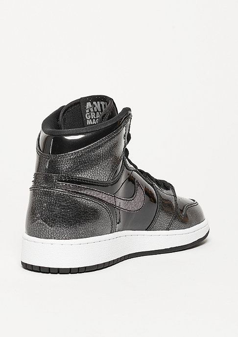JORDAN Basketballschuh Air Jordan 1 Retro High black/black/white