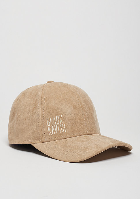 Black Kaviar Baseball-Cap Kapz beige