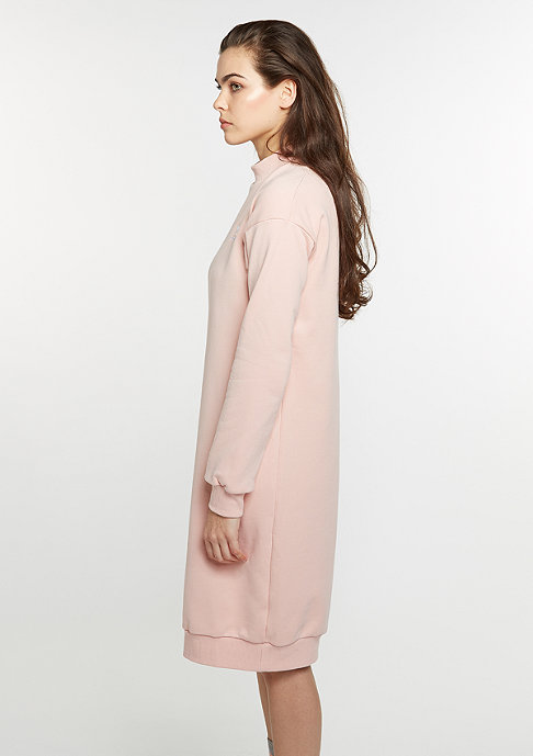 adidas Kleid 3 Stripes Crew Neck Dress vapour pink