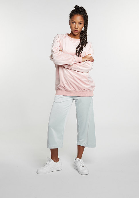 Future Past Sweatshirt Oversized Velvet Crew rose