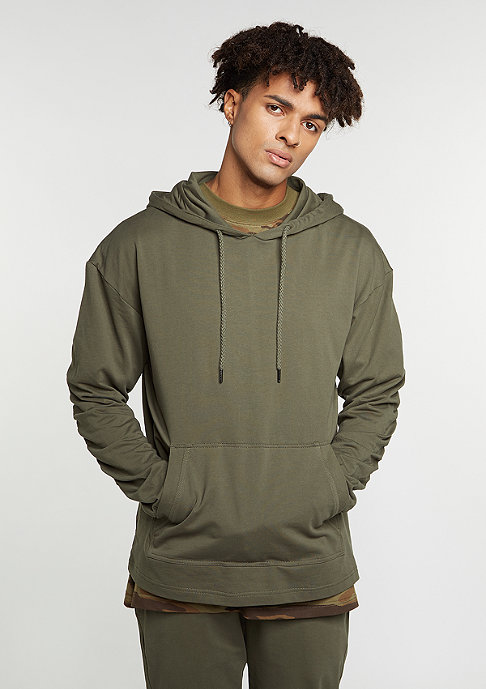 Future Past Light Hoody olive