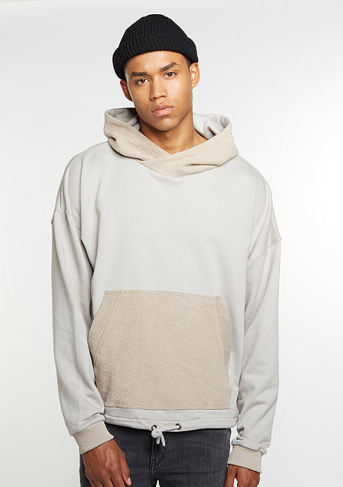 Future Past Hooded-Sweatshirt Inside Out taupe