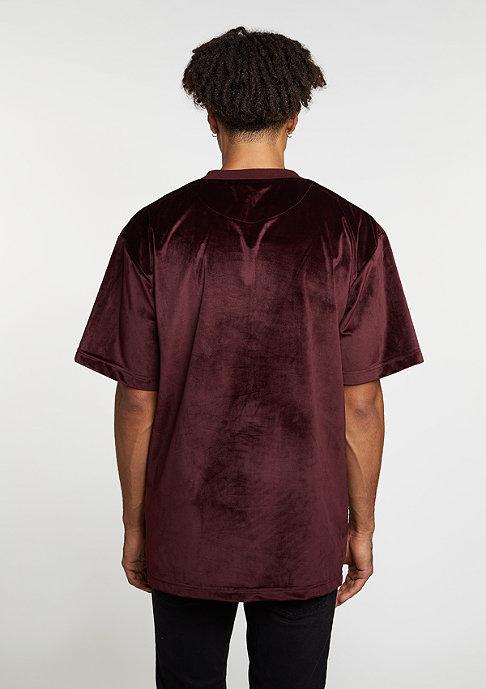 Future Past T-Shirt Velvet bordeaux