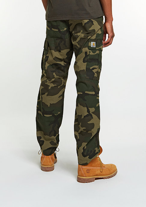 Carhartt WIP Cargo pants Regular camo laurel